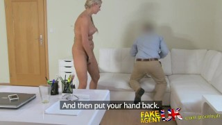 Chick falls sex stunning czech casting for fakeagentuk blonde fake hardcore cowgirl