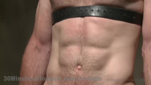 Straight Hunk Hardcore Beating - 13