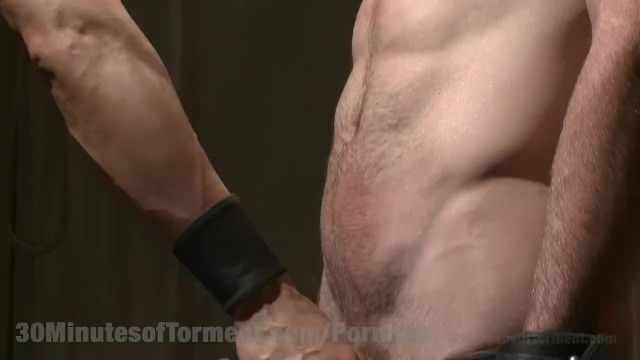 Straight Hunk Hardcore Beating - 14
