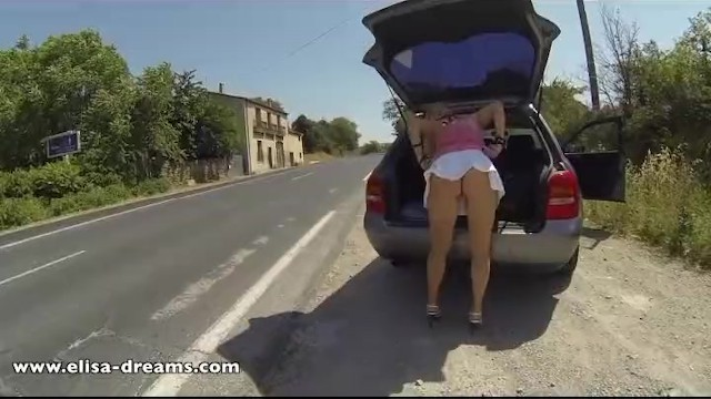 Flashing and naughty in public - 14