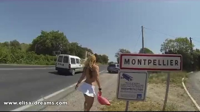 Flashing and naughty in public - 8
