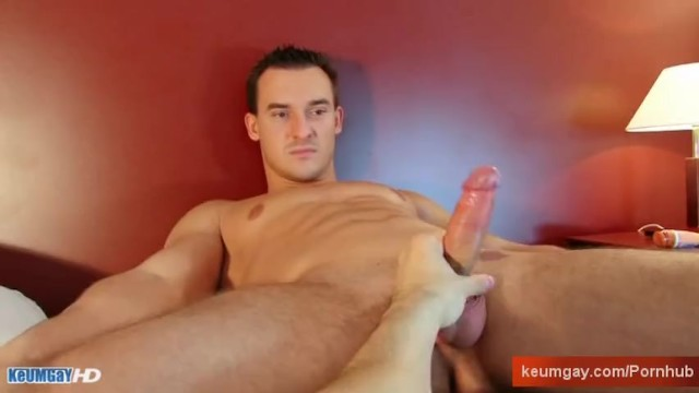 Soccer football player gets wanked his big cock by a guy. - 9