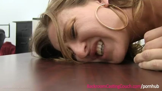 Young Mom Cheating on Boyfriend on Casting Couch - 14