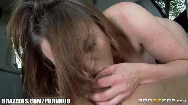 Sexy Hitchhiker Krissy Lynn gets pounded - Brazzers - 10