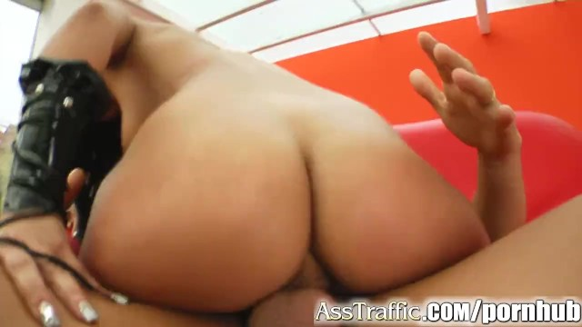 Ass Traffic Angel gets rough ass fuck and swallows that cum. - 13