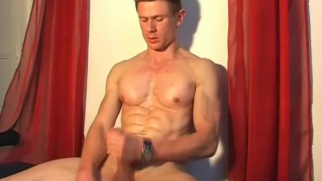Handsome gym trainer gets wanked his big dick by us. - 12