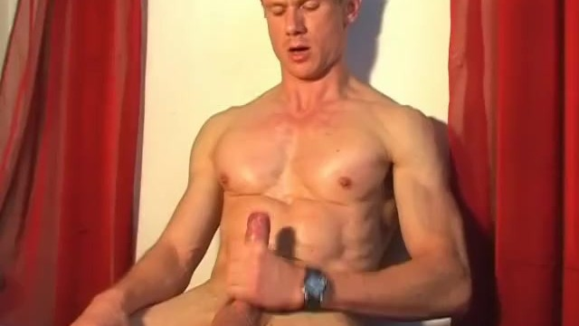 Handsome gym trainer gets wanked his big dick by us. - 13