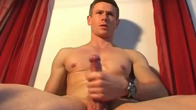 Handsome gym trainer gets wanked his big dick by us. - 4