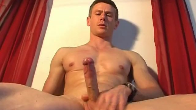 Handsome gym trainer gets wanked his big dick by us. - 5