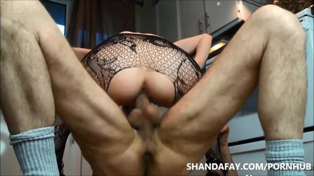 Cum In My Canadian Kitchen - ShandaFay - 13