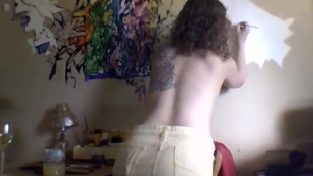 Topless and Painting The Walls - 2