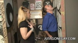 Billy Dewitt: Straight Guy Duped For GloryHole