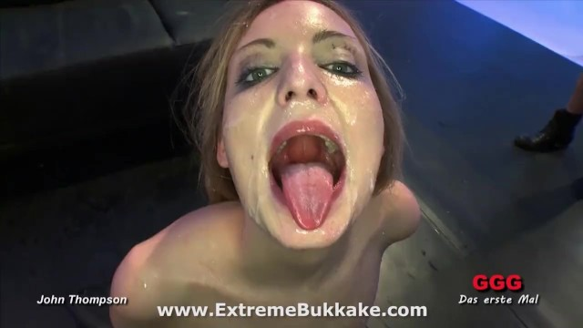 Beautiful blonde babe Kitty wants all their juices in her mouth - 13