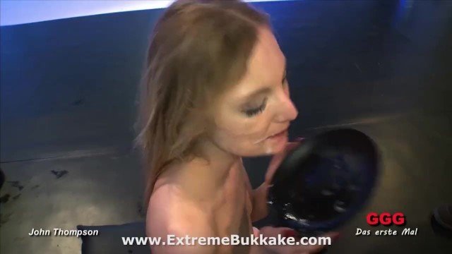 Beautiful blonde babe Kitty wants all their juices in her mouth - 16