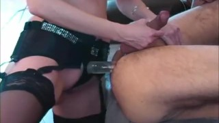 Man fucks canada's her shandafay new with a bling pegging strapon toys femdom
