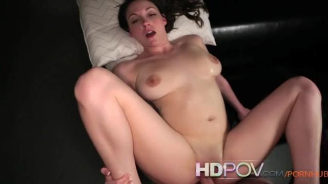 HDPOV Big titied Melanie Hicks getting creampied - 13