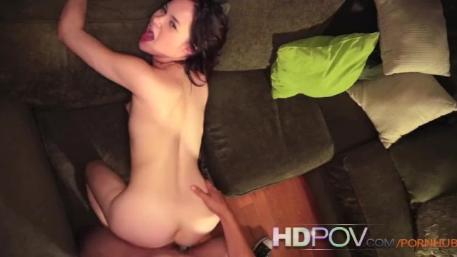 HDPOV Jenna J Ross riding on your hard cock - 12