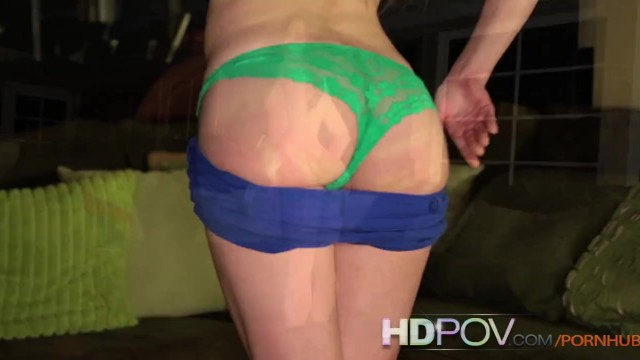 HDPOV Jenna J Ross riding on your hard cock - 2