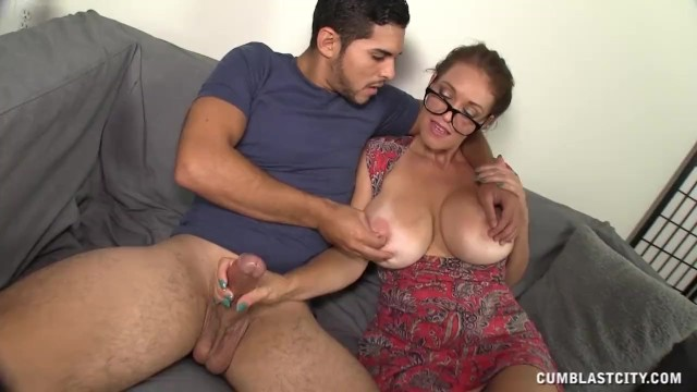Cumblast For The Busty Milf - 10