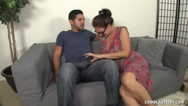 Cumblast For The Busty Milf - 6