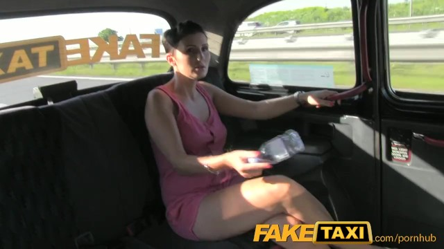 FakeTaxi Prague Beauty in backseat london sex cab holiday - 3