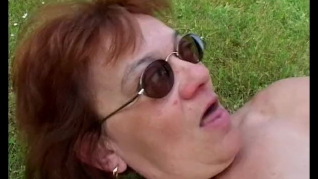 Granny With Huge Ass Gets Boy Hard - 10