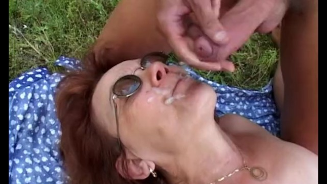 Granny With Huge Ass Gets Boy Hard - 15