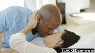 BLACKED Teen beauty tries Interracial anal sex Big hardcore