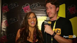 PornhubTV Sydney Leathers Interview at eXXXotica 2014 Atlantic City