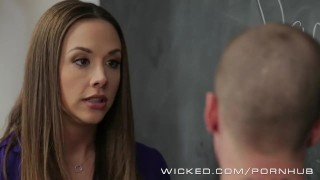 Chanel Preston has a unique way of teaching porno