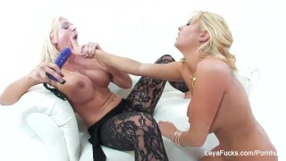 Leya Falcon Blonde Lesbian Fun