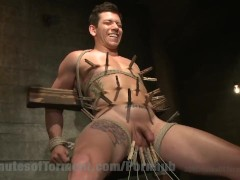 Stud's First Time Anal Torment
