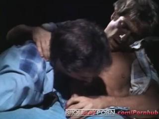 Jack wrangler sex scene from classic porn a...