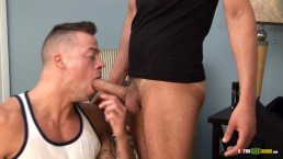 Thick Cock Cumming HARD