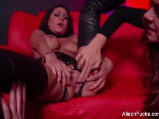 Alison Tyler Fucks A Hot Brunette