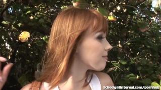 Redhead Schoolgirl Gets Knocked Up porno