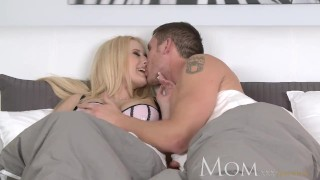 MOM Divorced and dating leads to hot sex Bound fingering