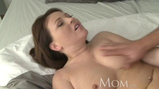 MOM Mature brunette wants her man to cum inside