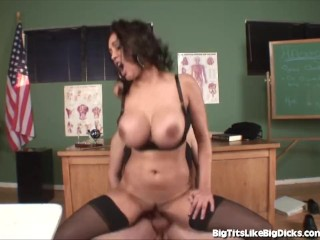 Busty Mom Fucks Her Kids Teacher