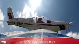 Big hottie plane tits a on masturbating fingering czech