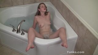 Hot Carmen Masturbating Her Pussy