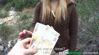 Mofos - Sexy Euro girl gets pounded outside