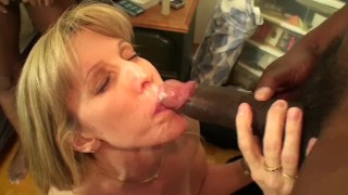 Carol Cox Fucks 2 Big Black Cocks
