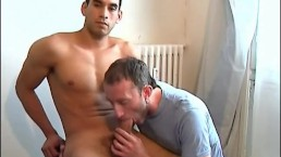 Can't resist to suck your huge cock !