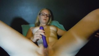 Masturbation solo pleasures first herself delirious homemade clamps