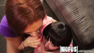 Mofos - Hot milf teaches young couple