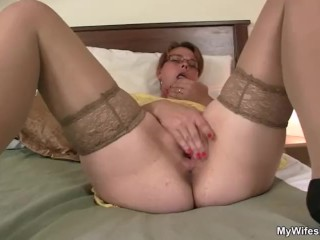 Her horny old snatch needs fresh cock