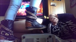PPrincess Boot Cock Trample