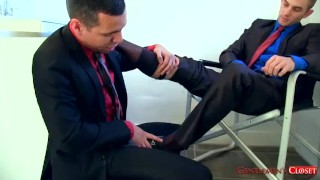 Socks & Bare Foot Worship Job mature