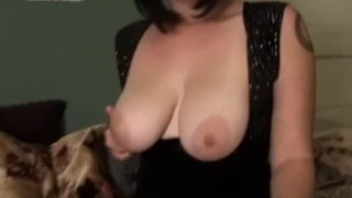 Lara Gets Off With a Turnip Lingerie stripteasing